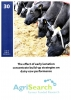 Booklet 30 - The effect of early lactation concentrate build-up strategies on dairy cow performance