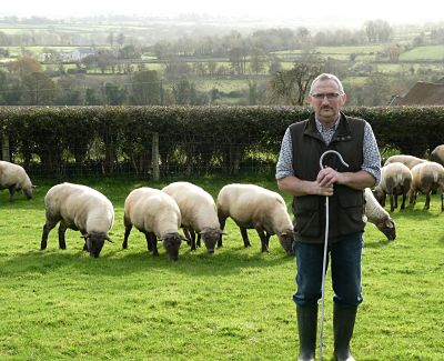 Isaac Crilly from Castlederg will be hosting an AgriSearch Sheep Farm Walk on Monday 10th September.