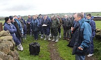 Host farmer Thomas Moorhead speaks about his farming operation
