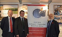 Dr Sinclair Mayne (Chair EAAP 2016 Organising Committee), Jason Rankin (General Manager AgriSearch) and Mike Steele (CEO British Society of Animal Science)