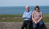 Maurice and Marie McHenry will host the hill sheep farm walk on the 14th August.