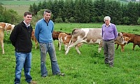 Ciaran and Patrick Kearney look forward to welcoming farmers to their farm on Wednesday 30th November