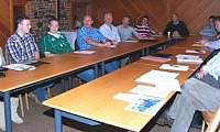 RCF Dairy Farmer Co-Researchers meeting at AFBI, Hillsborough